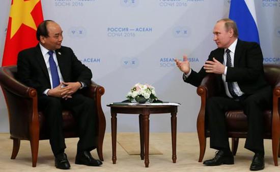 """""""Việt Nam tiếp tục coi Nga là đối tác chiến lược toàn diện"""""""