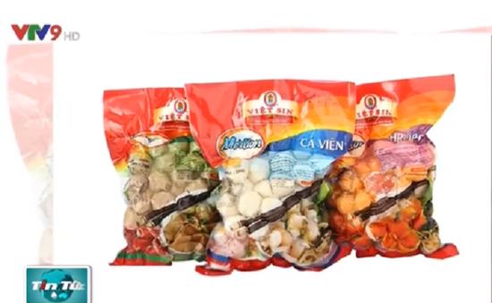 Các siêu thị tại TP.HCM thu hồi sản phẩm của Công ty Viet Sin