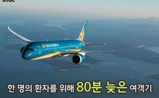 Vietnam Airlines hoãn chuyến để cấp cứu hành khách