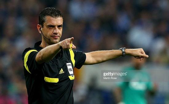 Euro 2016: Công bố trọng tài bắt trận khai mạc Pháp – Romania