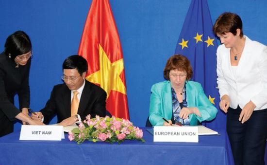 Tăng cường hơn nữa quan hệ hợp tác song phương Việt Nam - EU