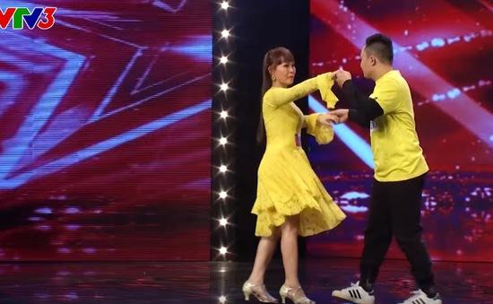 Got Talent: Trấn Thành bật khóc trước đam mê nhảy của người mẹ khiếm thị