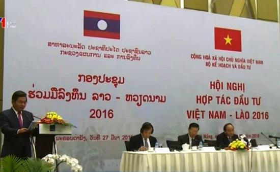 Hội nghị Hợp tác đầu tư Việt Nam - Lào 2016