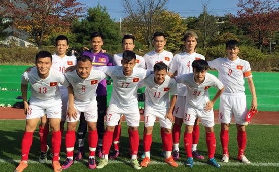 Công Vinh tỏa sáng, ĐT Việt Nam thắng 5-2 ở trận đấu cuối tại Hàn Quốc