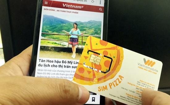 Vietnamobile ra mắt SIM PIZZA, kỳ vọng tăng số thuê bao