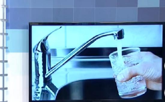 Hà Nội chuẩn bị lắp dây chuyền lọc nước cho phép uống tại vòi