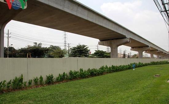 Hợp long cầu Sài Gòn tuyến metro tại TP.HCM