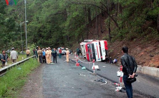 Khẩn trương điều tra nguyên nhân vụ TNGT thảm khốc tại Lâm Đồng