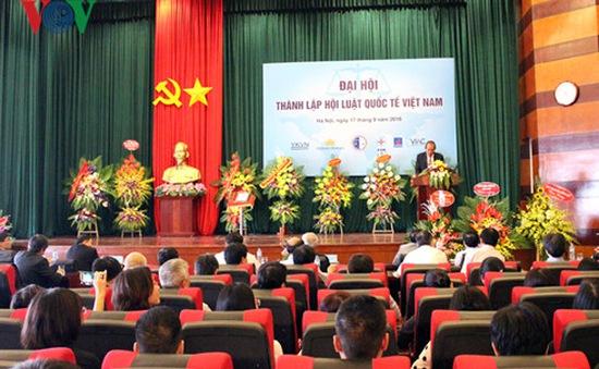 Đại hội thành lập Hội Luật quốc tế Việt Nam