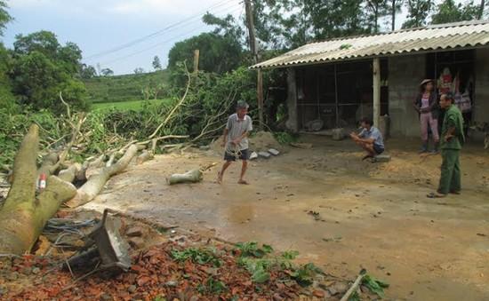 Hà Tĩnh: Lốc lớn bất ngờ làm 5 người bị thương