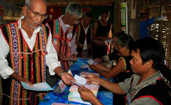 Công tác bầu cử tại Tây Nguyên diễn ra khẩn trương, an toàn