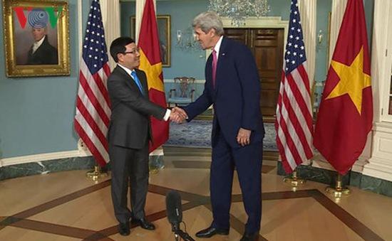 Hội đàm Bộ trưởng Ngoại giao Việt - Mỹ