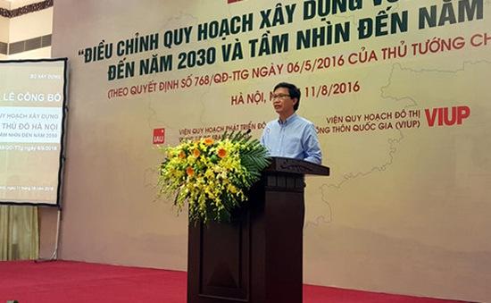 Quy hoạch Vùng Thủ đô Hà Nội gồm 10 tỉnh, thành phố