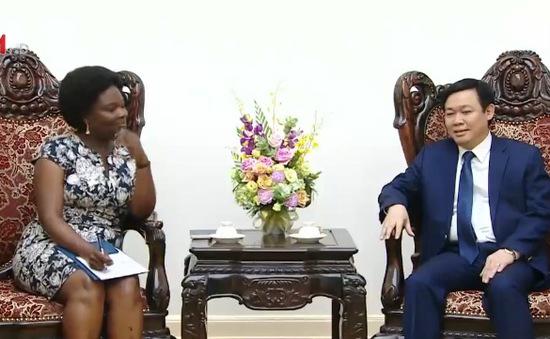 PTTg Vương Đình Huệ tiếp Phó Chủ tịch Ngân hàng Thế giới