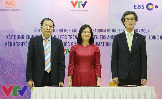 VTV7 hợp tác với Hàn Quốc xây dựng khung chương trình hoạt hình EBS