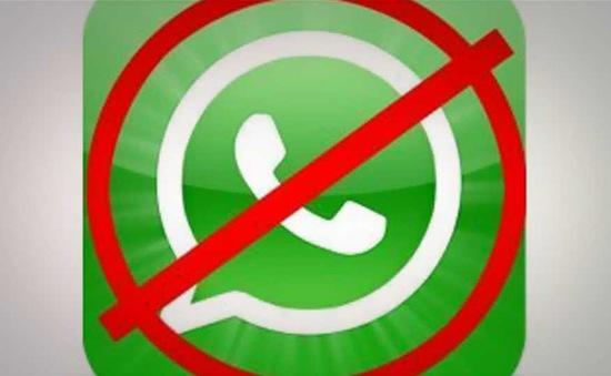 Brazil chặn dịch vụ WhatsApp