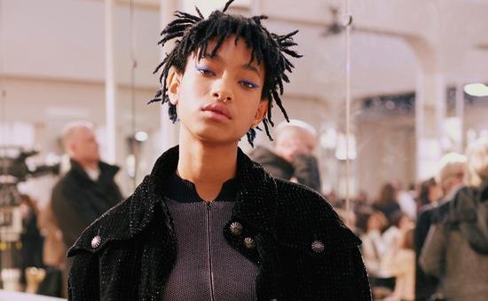 """Con gái Will Smith thành """"nàng thơ"""" nổi loạn của Chanel"""