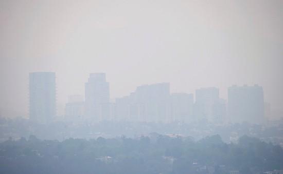 Mexico dỡ bỏ lệnh báo động ô nhiễm không khí