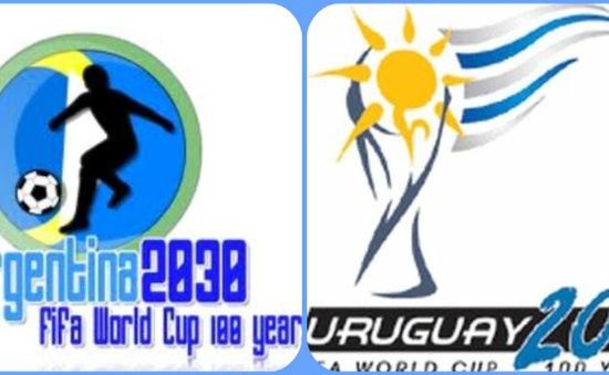 Argentina và Uruguay tính đồng đăng cai World Cup 2030