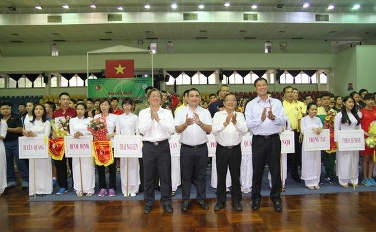 Khai mạc giải Wushu toàn quốc 2016