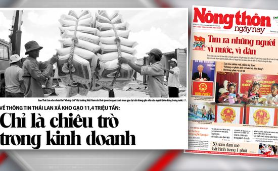 Thái Lan xả 11,4 triệu tấn gạo: Chỉ là chiêu trò trong kinh doanh