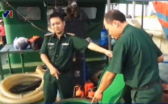 Bắt giữ tàu chở hơn 300.000 lít xăng lậu trên biển Cần Giờ