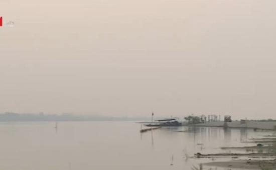 Lào xả nước ứng cứu hạn hán hạ nguồn sông Mekong