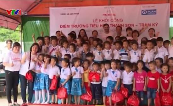 """""""Cùng xây tương lai"""" xây trường tiểu học cho Quảng Bình"""
