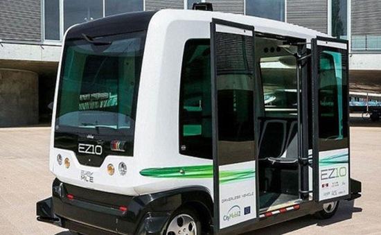 Hà Lan thử nghiệm xe bus không người lái trên đường phố