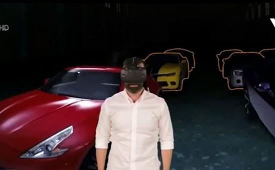 Mua sắm ô tô bằng công nghệ thực tế ảo