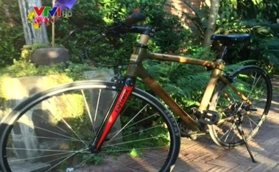 Xe đạp tre Made in Vietnam xuất khẩu