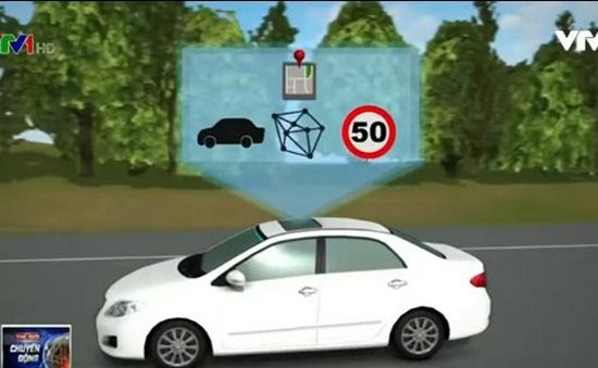 Xe hơi có thể nhận biết biển báo giao thông