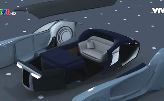 """Rolls-Royce ra mắt siêu xe tương lai """"không người lái'"""""""