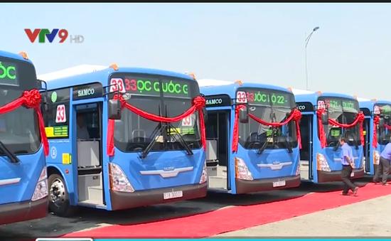 TP.HCM có thêm 13 xe bus CNG