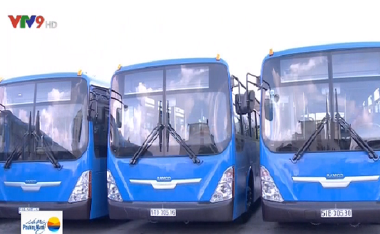 TP.HCM thay mới 55 xe bus thân thiện với môi trường