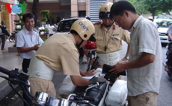 TPHCM: Lập đường dây nóng tiếp nhận phản ánh về việc CSGT xử phạt