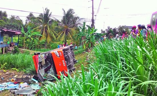 An Giang: Xe khách Phương Trang lại gây tai nạn