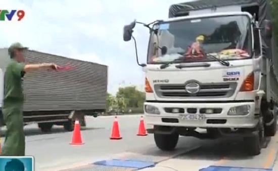 TP.HCM chặn xe quá tải từ cửa ngõ thành phố bằng cân tự động