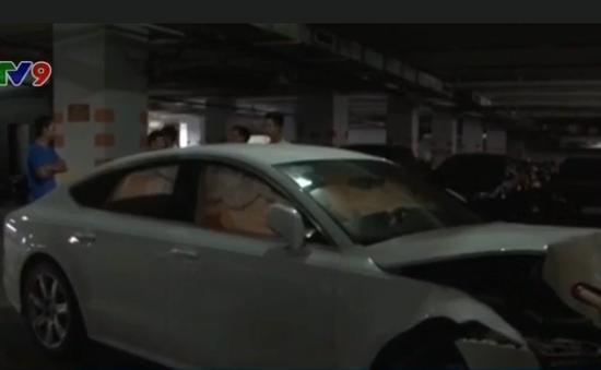 TP.HCM: Bảo vệ làm hỏng xe sang của khách, thiệt hại khoảng 2 tỉ đồng