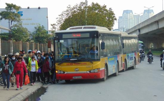 Đến năm 2020, xe bus sẽ đáp ứng  25% nhu cầu của người dân