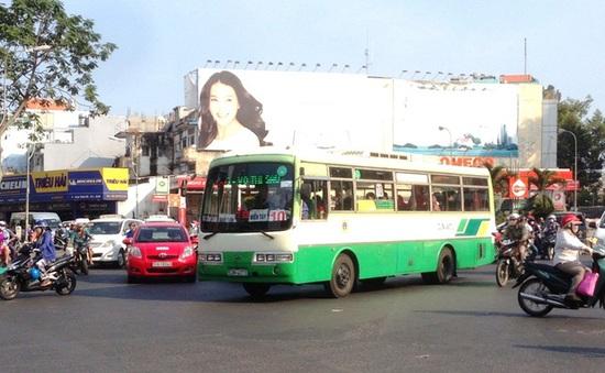 TP.HCM đề xuất cho xe bus chạy vào đường xe máy giờ cao điểm