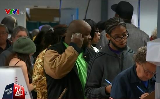 Mỹ: Người dân bang Ohio xếp hàng bỏ phiếu bầu Tổng thống sớm