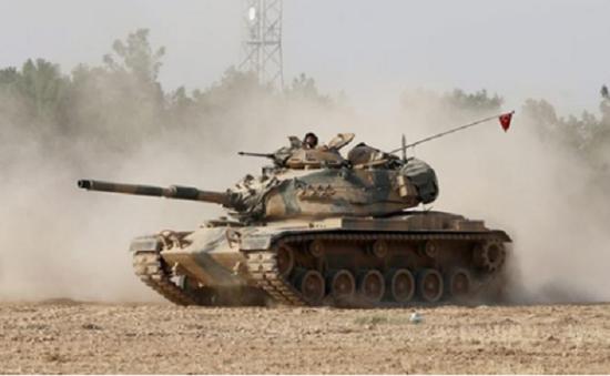 Thổ Nhĩ Kỳ tăng cường quân ở biên giới Syria