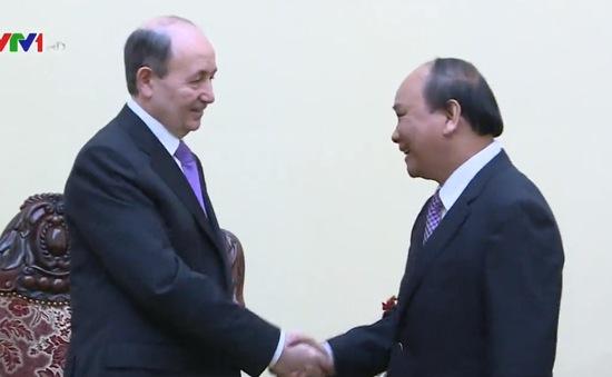Phó Thủ tướng Nguyễn Xuân Phúc tiếp Bộ trưởng Tư pháp Azerbaijan