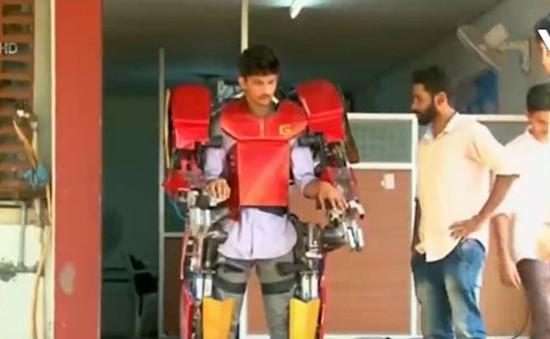 Sinh viên Ấn Độ chế tạo khung robot giá rẻ