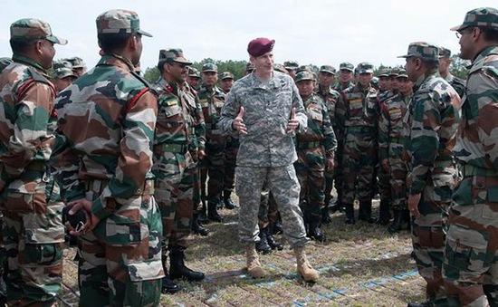 """Ấn Độ, Mỹ bắt đầu cuộc tập trận chung """"Yudh Abhyas"""""""