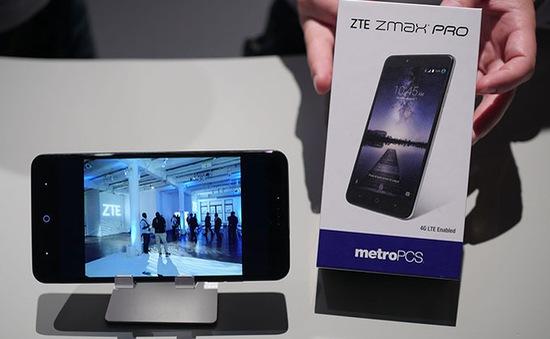 """Zmax Pro - Phablet cỡ """"khủng"""" của ZTE trình làng với giá 2,2 triệu đồng"""