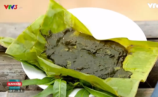 Thưởng thức món rêu nướng thơm ngon lạ miệng