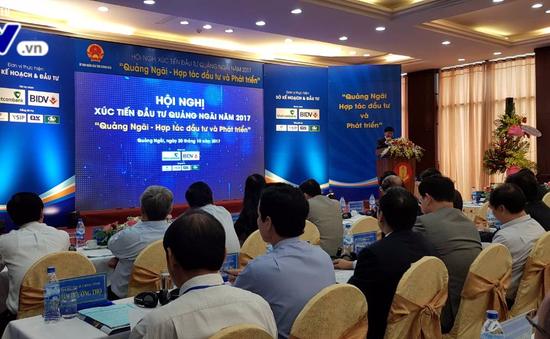Khai mạc Hội nghị xúc tiến đầu tư tỉnh Quảng Ngãi 2017