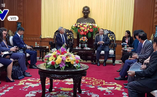 APEC 2017: Bí thư Đà Nẵng tiếp Chủ tịch Ngân hàng Đầu tư cơ sở hạ tầng châu Á